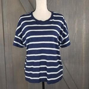Rag & Bone / Jean striped tshirt top Large J92